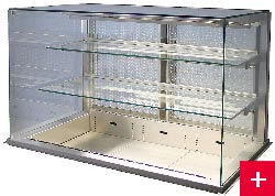 Multilevel Drop-in Cabinets